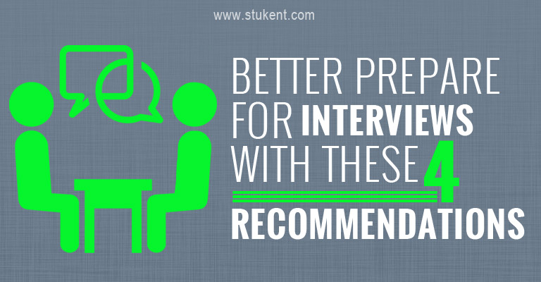 4 interview recommendations