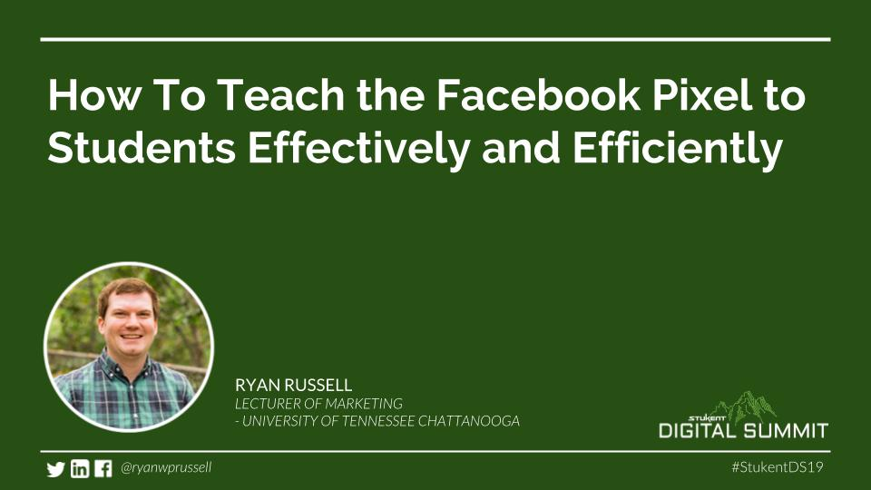 How to effectively teach Facebook advertising with class projects