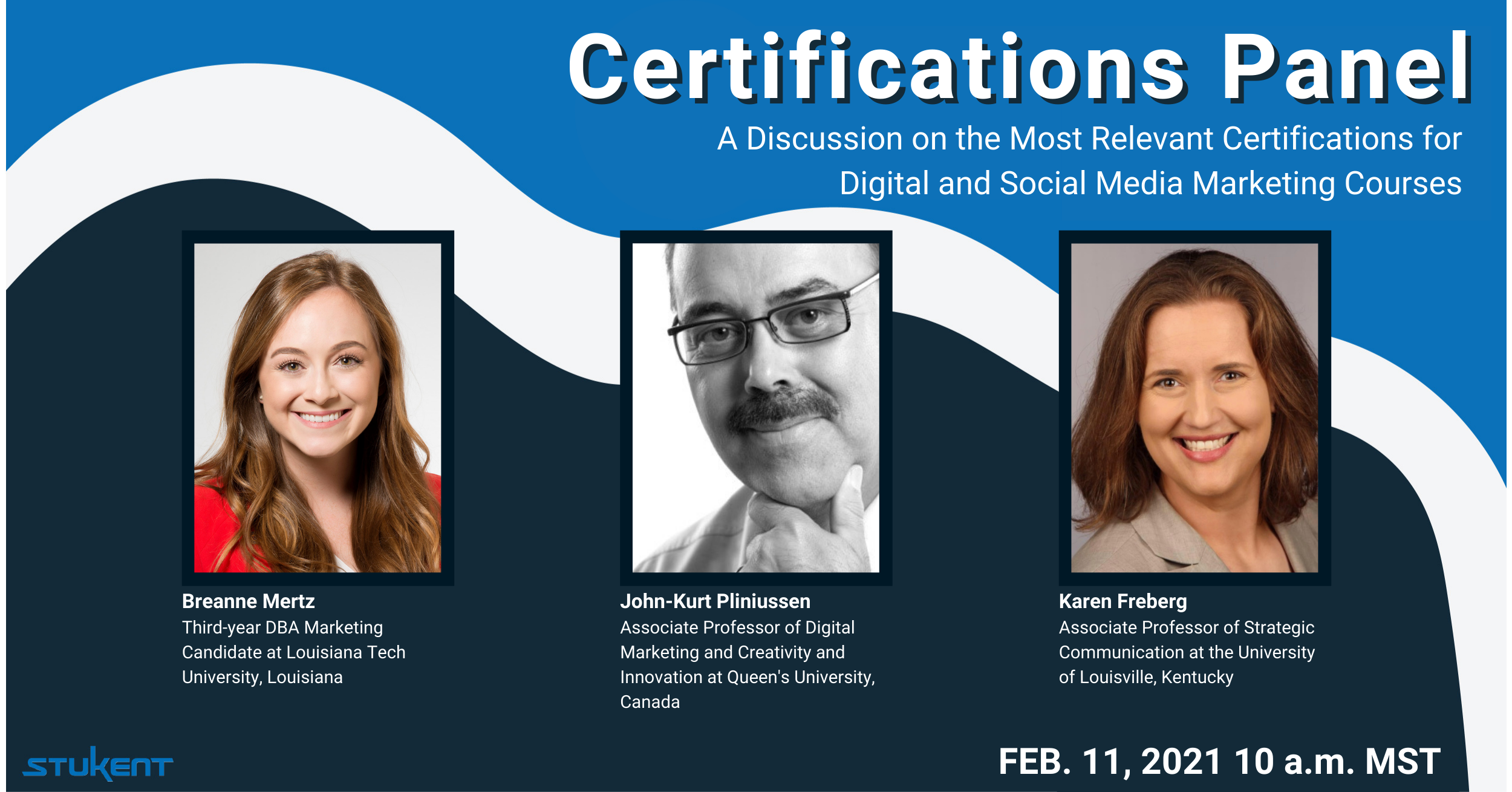 Certifications Panel: A Discussion on the Most Relevant Certifications for Digital & Social Media Marketing Courses