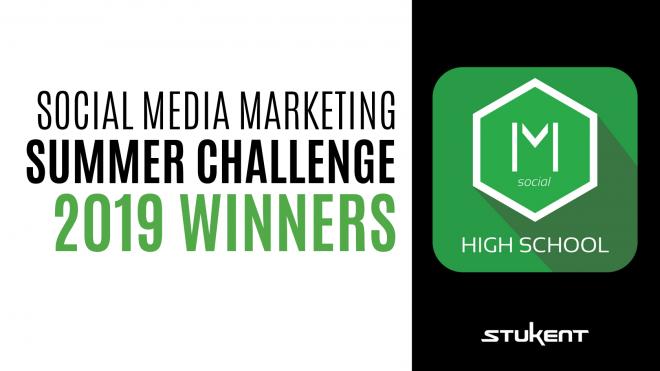 Social Media Marketing Summer Challenge 2019 Winners Header & Mimic Social Logo